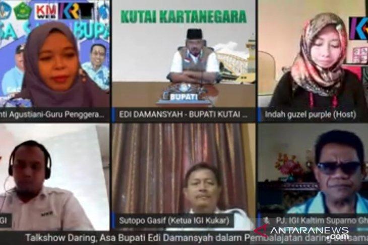 Bupati Kukar ingin permanenkan belajar daring