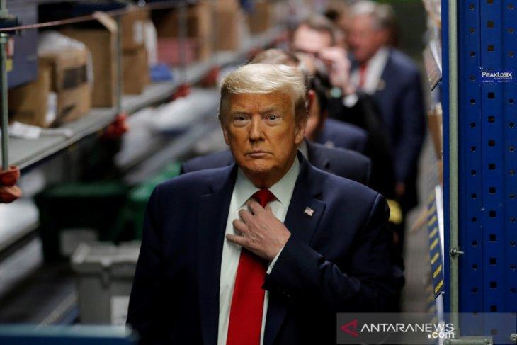 Trump konsumsi hydroxychloroquine cegah COVID-19