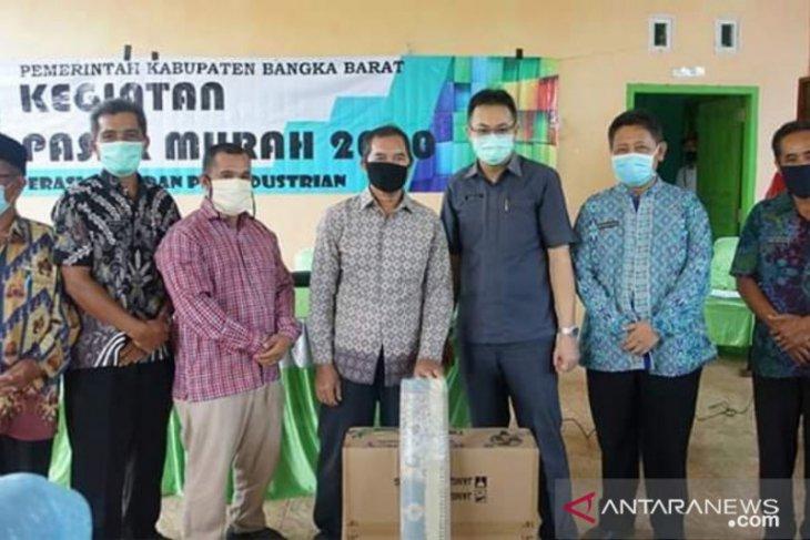 Pemkab Bangka Barat-Baznas salurkan bantuan ke masjid