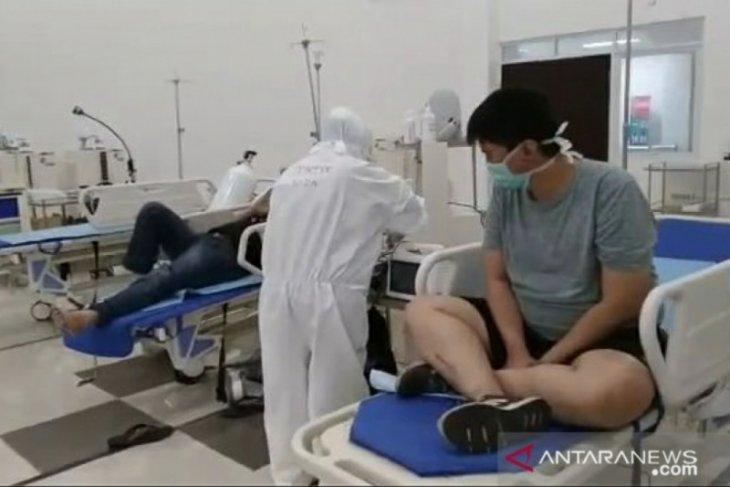 1.264 pasien COVID-19 di Wisma Atlet sembuh