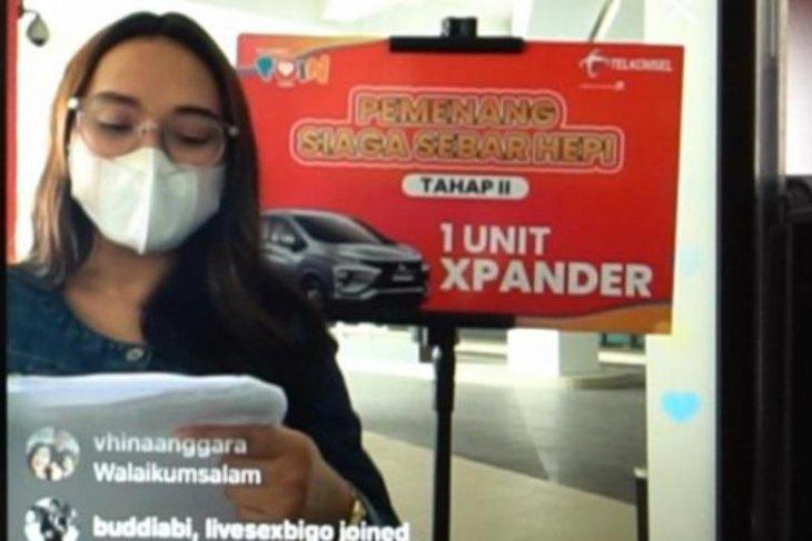 Telkomsel Poin serahkan 1 mobil apresiasi pelanggan setia