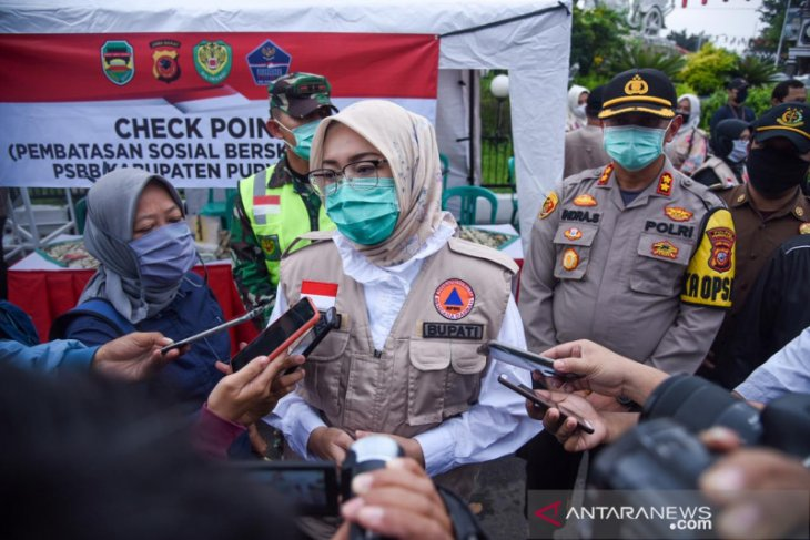 Bupati Purwakarta Anne Ratna putuskan tidak perpanjang PSBB