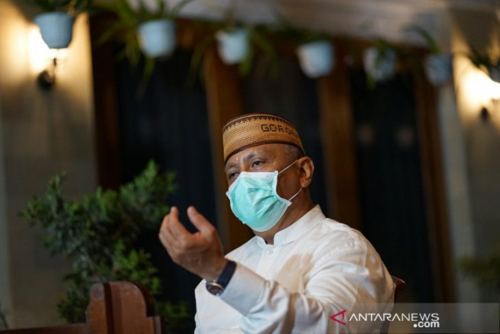 Gubernur Gorontalo: Tak ada shalat Idul Fitri di lapangan dan masjid