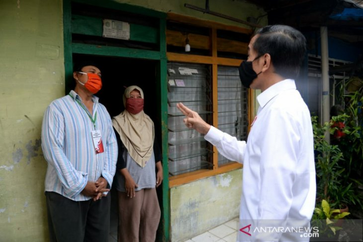 Presiden Jokowi perintahkan segera sinkronisasi data penerima bansos