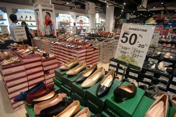 Potongan harga di pusat perbelanjaan