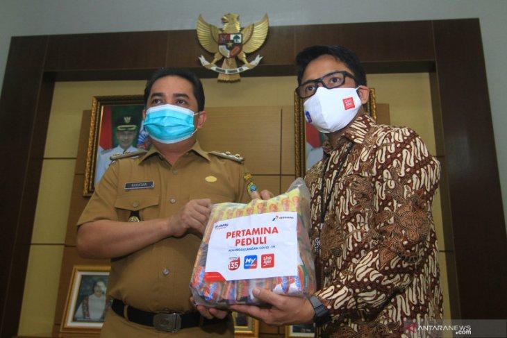 Bantuan Sembako Pertamina untuk masyarakat Pontianak