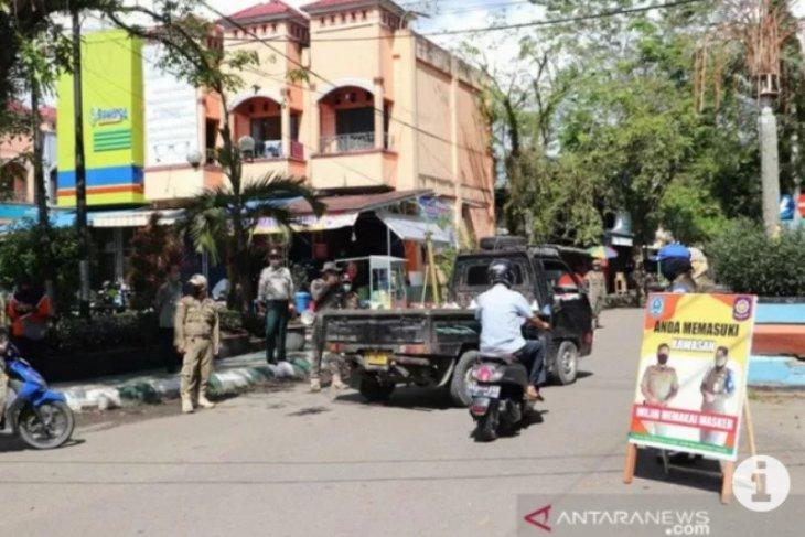 Satpol PP Kabupaten HSS razia warga yang tak pakai masker