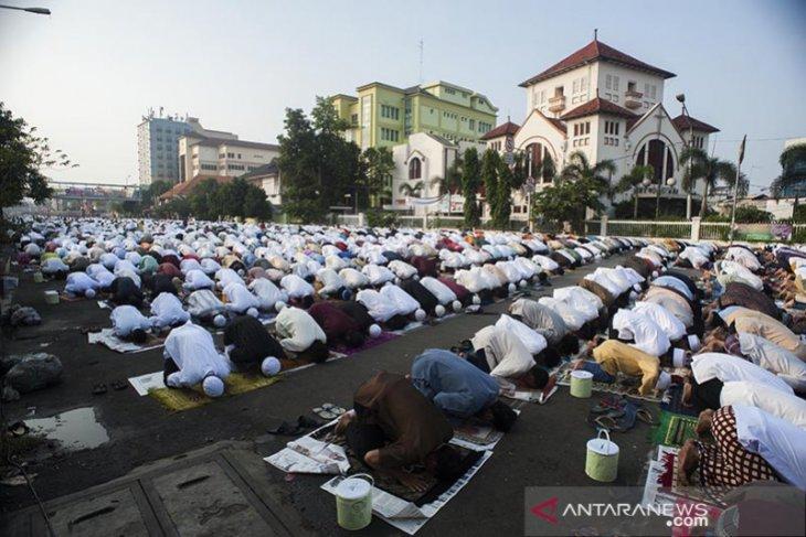 Polda Metro Jaya sarankan masyarakat Shalat Idul Fitri di rumah