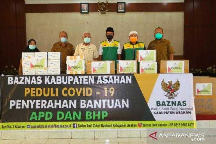 Baznas Kabupaten Asahan serahkan APD ke Gugus Tugas COVID-19