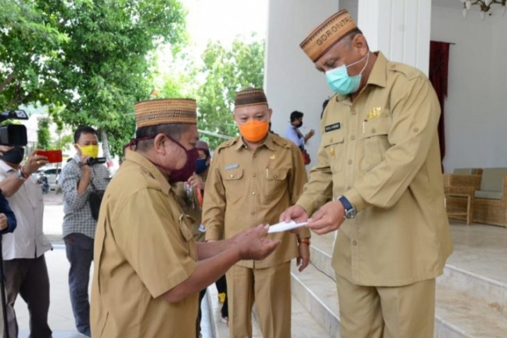 Pemprov Gorontalo mulai bayarkan THR ke ASN