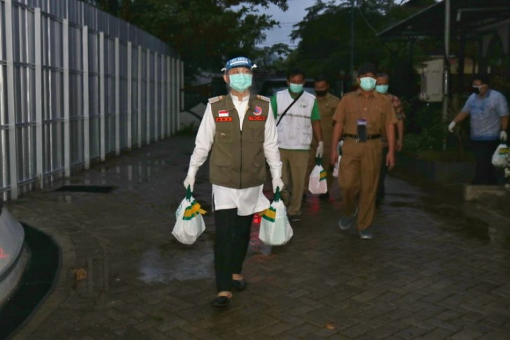 Untuk karantina pasien corona, Pemkab Trenggalek gunakan asrama diklat