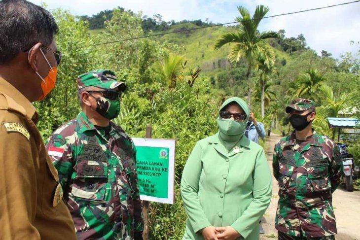 Danrem 121/ABW tinjau lokasi rencana pembangunan Kodim Kayong Utara