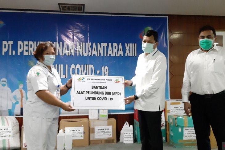 PTPN XIII bantu fasilitas APD bidang kesehatan tiga provinsi di Kalimantan
