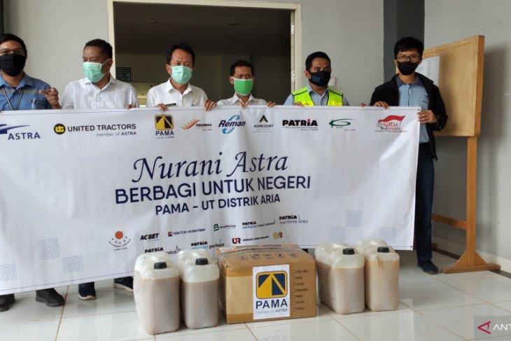 PT Pamapersada Nusantara-PT United Tractors bantu Alkes medis RSUD Hadji Boejasin