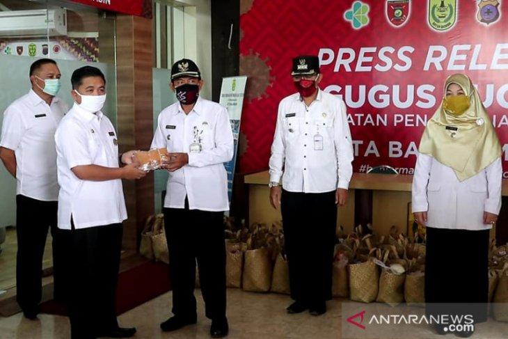 Pemkot distribusikan 29 ribu masker untuk warga Kota Banjarmasin