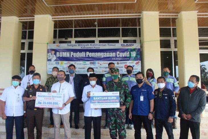 Pemkab Paser terima bantuan sembako dari Perusahaan BUMN