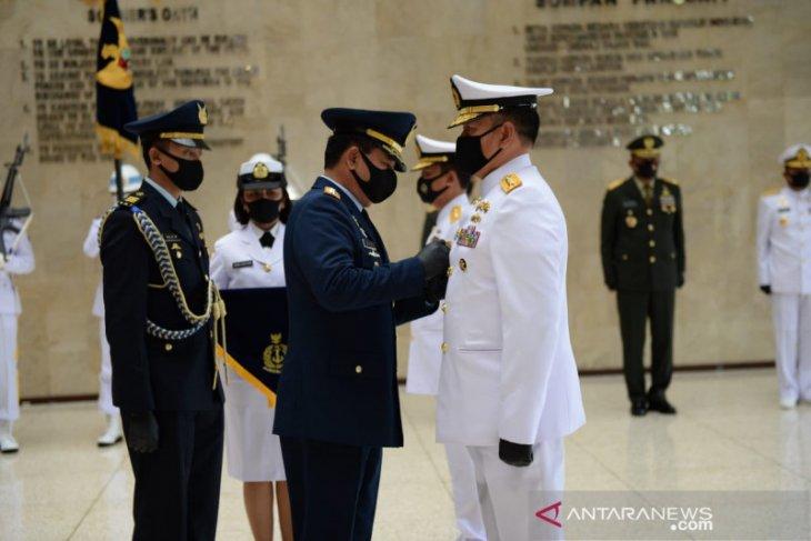Panglima TNI pimpin serah terima jabatan Kasal dan Kasau