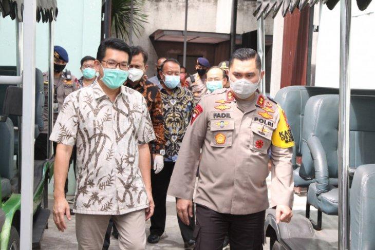 Kapolda Jatim sidak kawasan industri Sidoarjo, pastikan penerapan protokol kesehatan