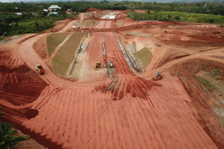 Proyek jalan tol Bengkulu - Lubuk Linggau capai 30 persen