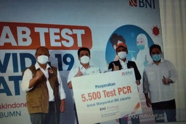BNI gelar 30.000 tes swab gratis untuk bendung sebaran Corona