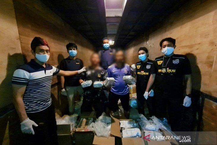 Peredaran lima kilogram sabu terbongkar Bea Cukai Jambi
