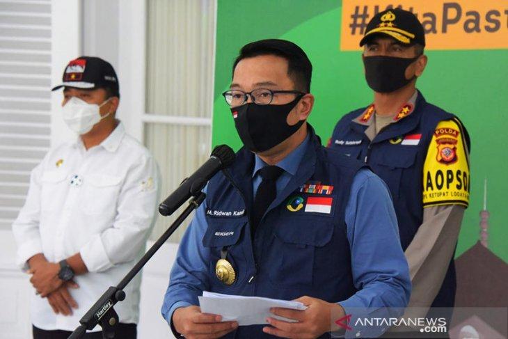 Gubernur Jabar bantah presiden buka operasional mal di Bekasi