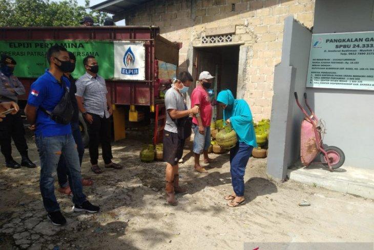 Polres Bangka Barat pantau ketersediaan elpiji jelang Idul Fitri