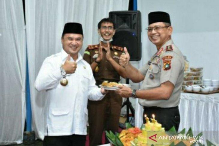 Gubernur Erzaldi ucapkan selamat atas kenaikan pangkat Kapolda dan Wakapolda Babel