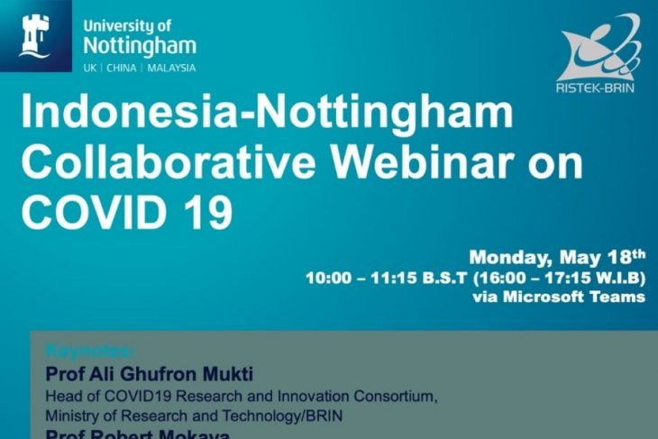 Experts from Indonesia, UK mull multi-disciplinary COVID-19 strategy