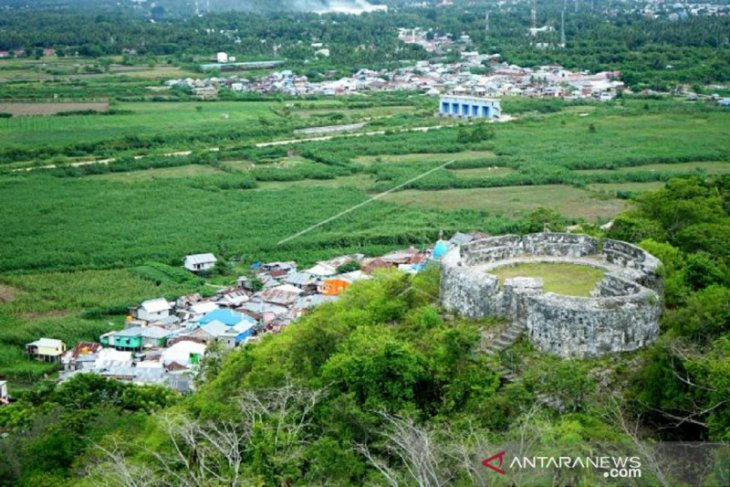 Foto - Objek wisata Benteng Otanaha masih ditutup karena dampak corona