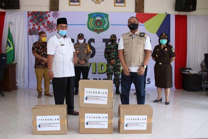 Pemprov Sumut salurkan bantuan sembako JPS ke Kabupaten  Padang Lawas