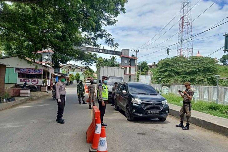 131 kendaraan putar balik di hari kedua larangan masuk Aceh