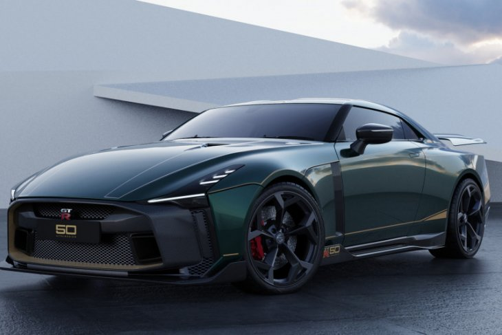 Nissan GT-R50 Italdesign resmi dikenalkan, hanya terdapat 50 unit di dunia