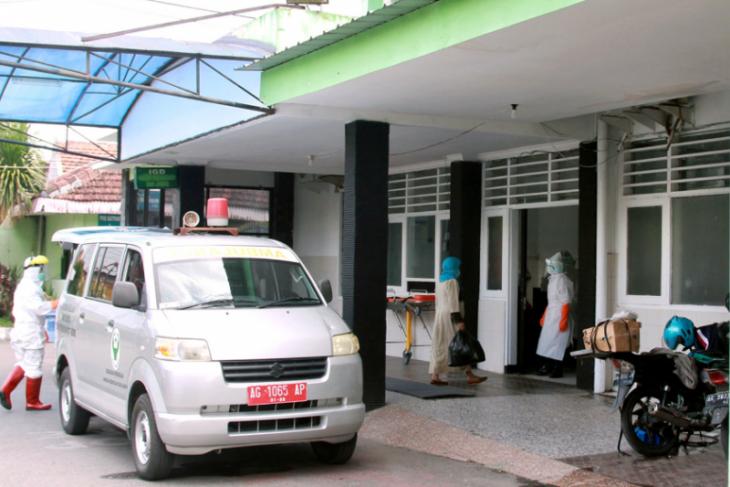 Lima pasien COVID-19 dirawat di RS Kilisuci Kota Kediri