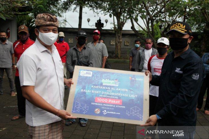 XL Axiata-KKP-Bakamla-YBB salurkan 1.000 paket donasi untuk nelayan terdampak COVID-19