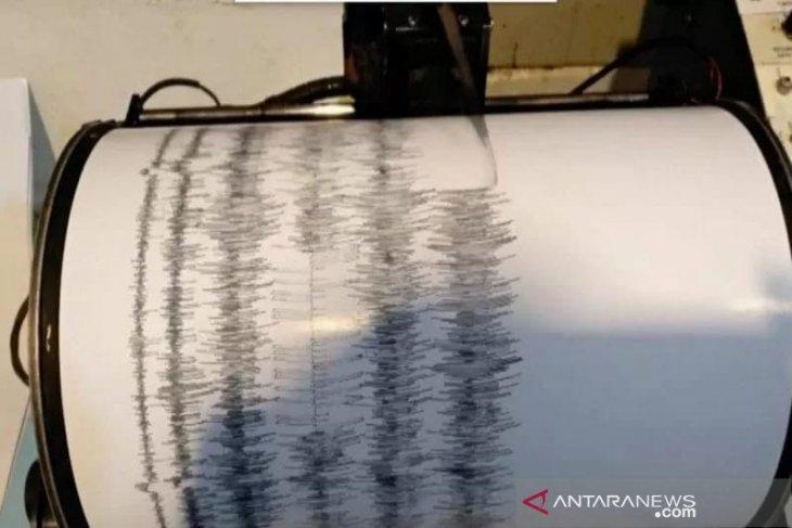 Delapan kali  gempa di Sumatera Barat sejak sepekan terakhir