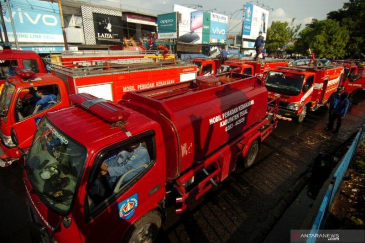 Polda Bali tindak pengemudi yang diduga halangi mobil Damkar