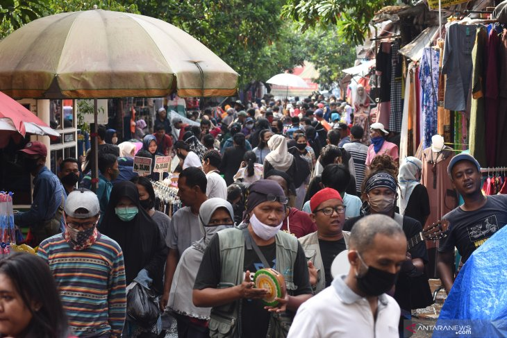 Sebanyak delapan pasar tradisional jadi sumber penularan COVID-19 di Jakarta