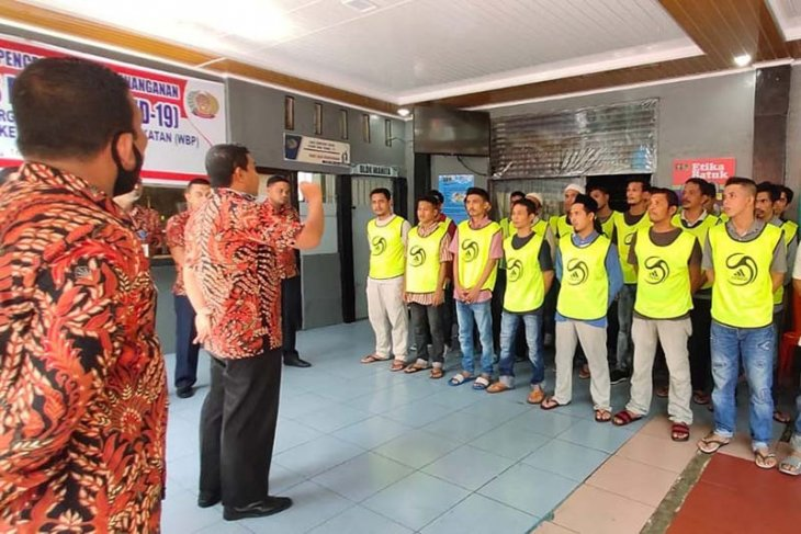 28 narapidana Lapas Lhoksukon dibebaskan