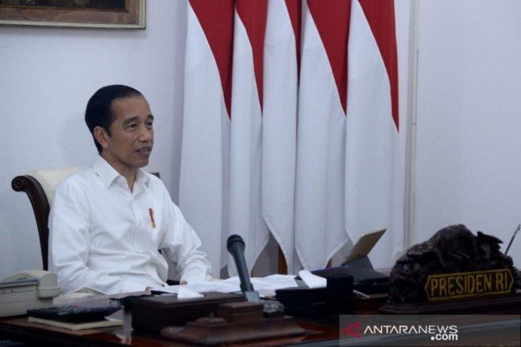 Tidak akan gelar griya, Presiden Jokowi anjurkan silaturahim virtual saat Lebaran