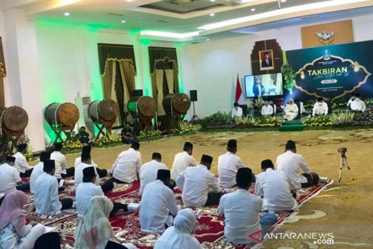 Gubernur Khofifah pimpin takbiran daring sambut Idul Fitri 1441 Hijriah