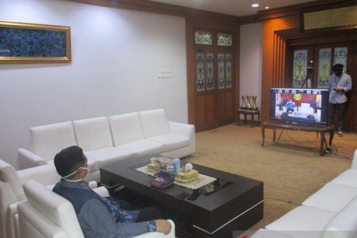 Walikota berdialog dengan BADKO-HMI Kalselteng