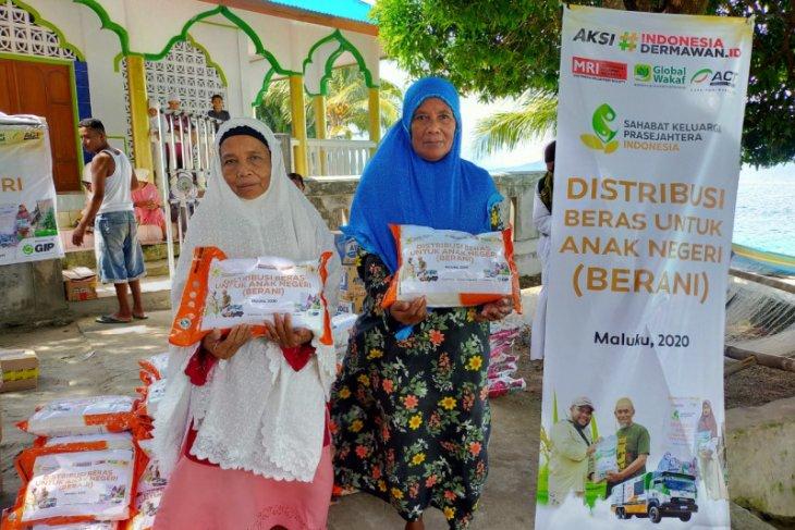 ACT-MRI Maluku suplai beras gratis untuk warga Kota Ambon dan Maluku Tengah