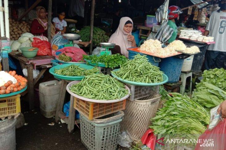 Harga sayur buncis di pasar Ambon Rp60.000Kg