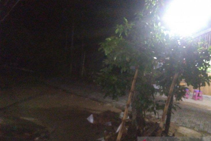 Hujan lebat malam idul fitri di pedesaan batu benawa HST