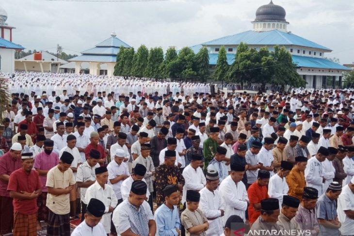 Ribuan warga muslim di Nagan Raya sudah rayakan Hari Raya Idul Fitri