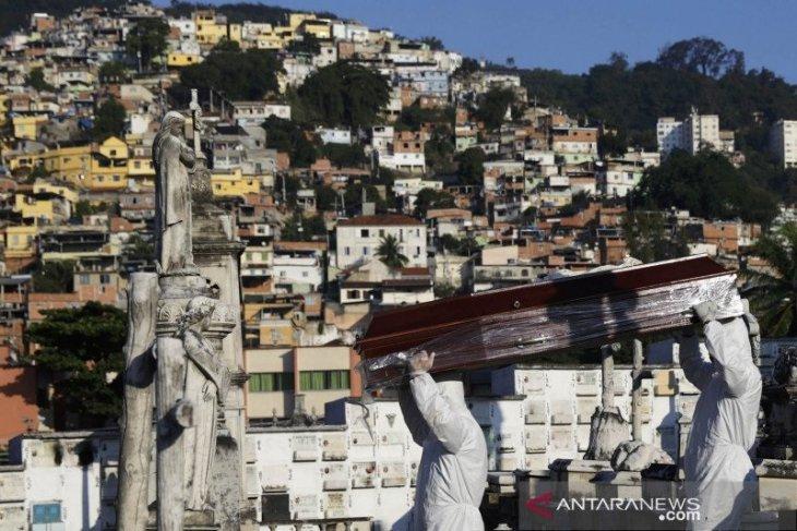 Brazil catat 46.860 kasus baru corona dalam satu  hari