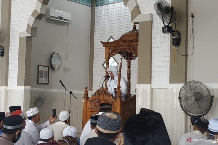 Khatib sampaikan hikmah di balik pandemi dalam khotbah Shalat Idul Fitri