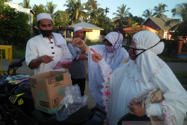 Polisi Mukomuko amankan pelaksanaan shalat Idul Fitri