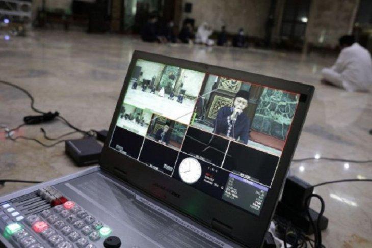 Takbir digelar secara virtual